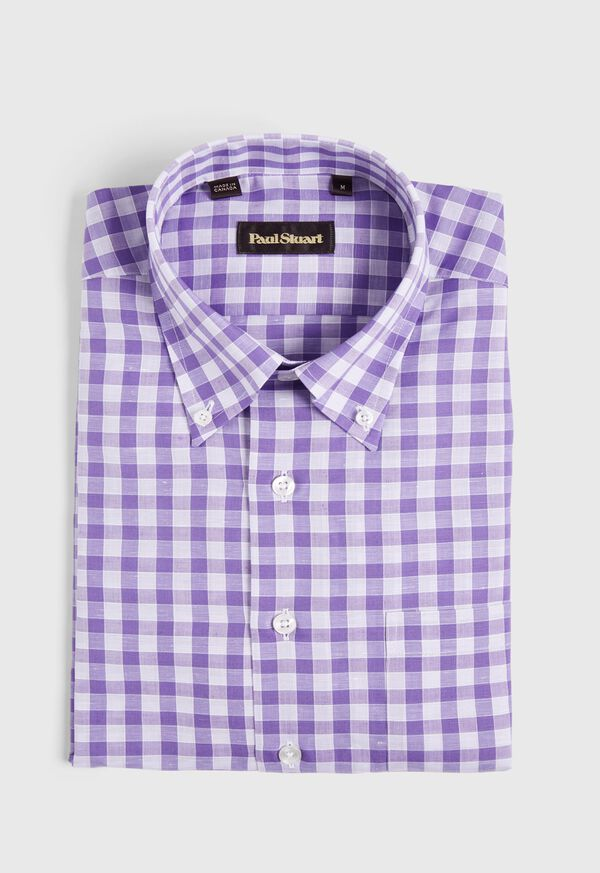 Oversize Gingham Sport Shirt, image 1