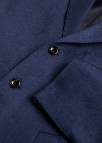 Mid Blue Cashmere Coat, thumbnail 2