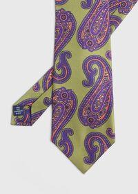 Paisley Print Silk Tie, thumbnail 1