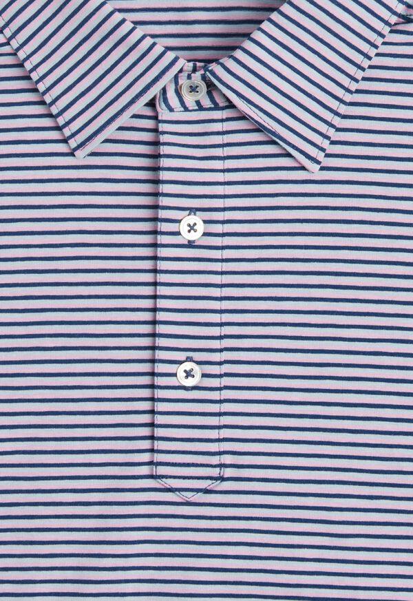 Cotton Blend Stripe Polo, image 2