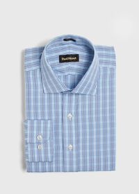 Slim Fit Plaid Dress Shirt, thumbnail 1