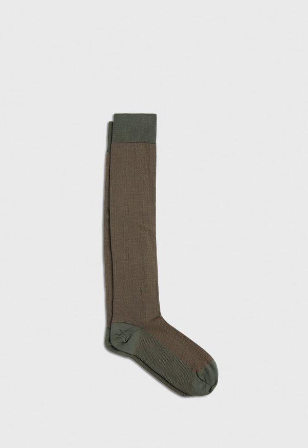 Wool Blend Chevron Sock, image 1