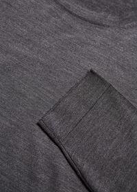 Wool Blend Crewneck Shirt, thumbnail 2