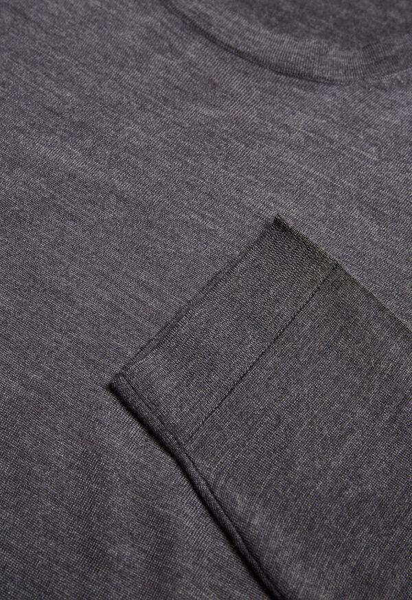 Wool Blend Crewneck Shirt, image 2