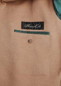 Camel Hair Double Breasted Short Coat, thumbnail 3