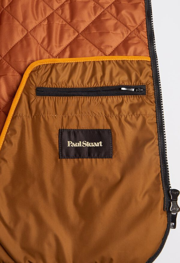 Wool Flannel Quilted Vest, image 4