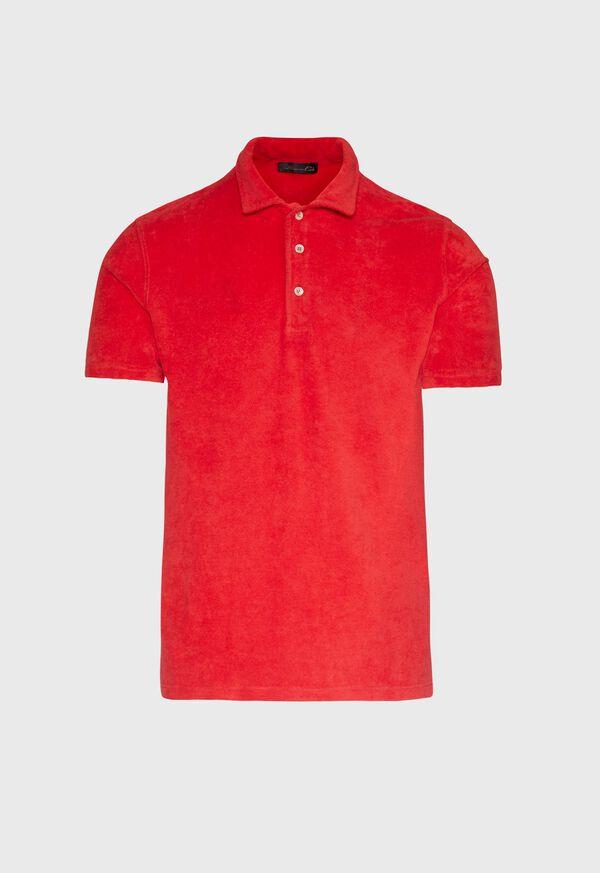 Terry Cloth Polo Shirt, image 1