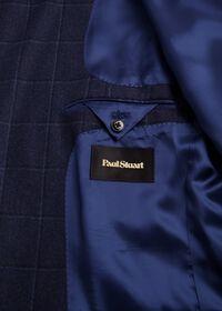 Windowpane Wool and Cashmere Blend Jacket, thumbnail 3