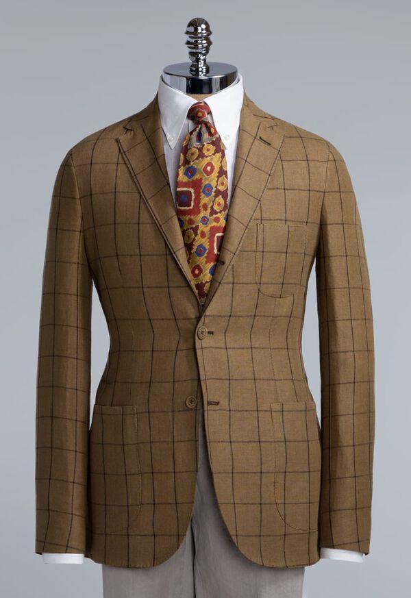 Linen Windowpane Soft Jacket, image 2