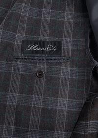 Grey Plaid Wool Suit, thumbnail 5