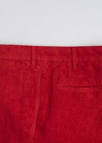 Linen Plain Front Pant, thumbnail 3