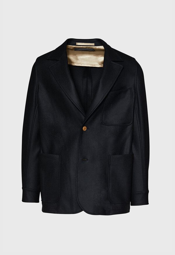 Black Wool Blazer, image 1