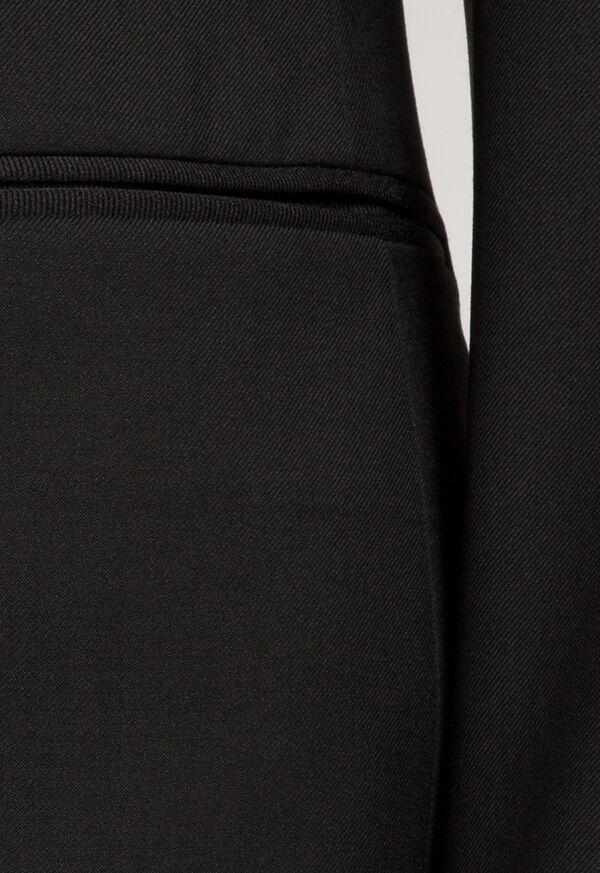 Super 110s Wool Peak Lapel Tuxedo, image 5