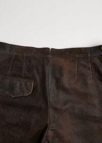 Brown Vintage Leather Pant, thumbnail 4