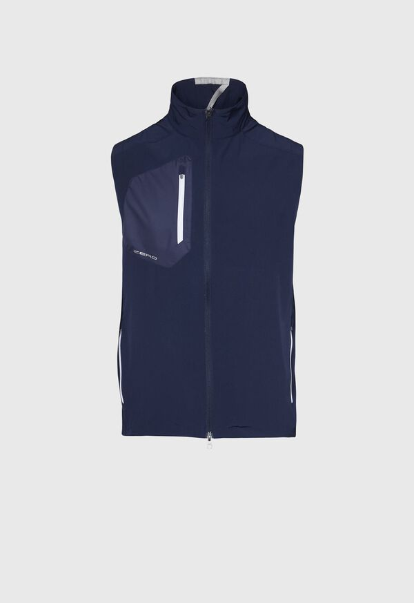 Navy Full Zip Vest, image 1