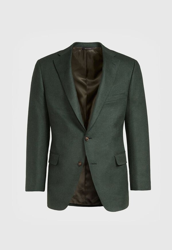 Wool Blend Solid Sport Jacket, image 1