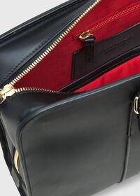 Leather Contrast Stitch Briefcase, thumbnail 2