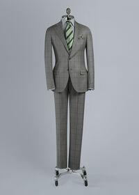 Wool Windowpane Suit, thumbnail 1