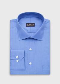 Cotton End On End Dress Shirt, thumbnail 1
