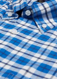 Big Plaid Flannel Sport Shirt, thumbnail 2