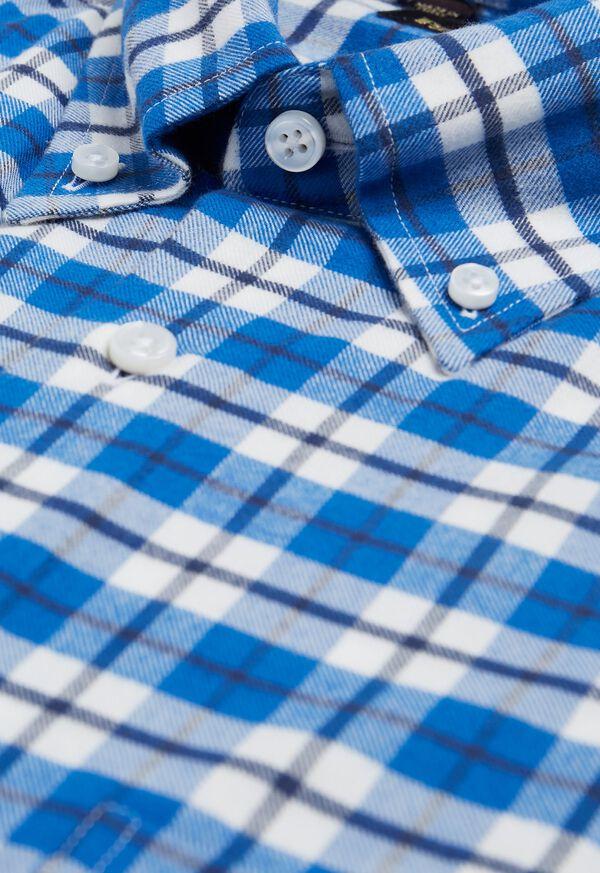 Big Plaid Flannel Sport Shirt, image 2