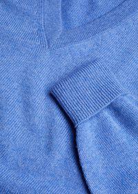 Scottish Cashmere V-Neck Sweater, thumbnail 29