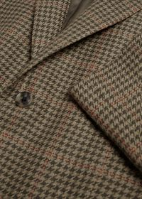 Olive and Sage Houndstooth Sport Jacket, thumbnail 2