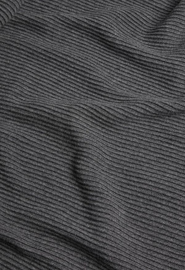 Wool and Cashmere Ribbed Sweater Dress, image 2