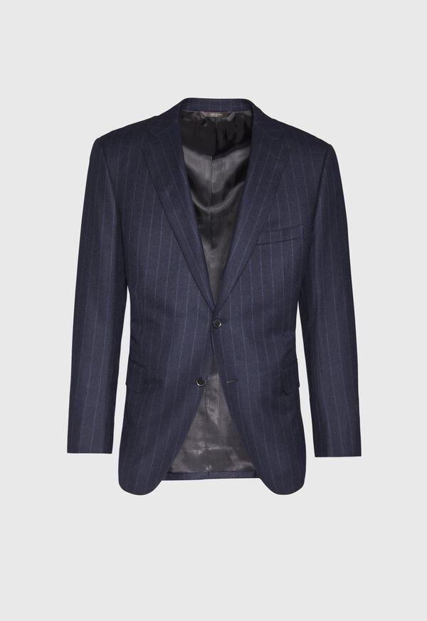 Tonal Blue Stripe Suit, image 3