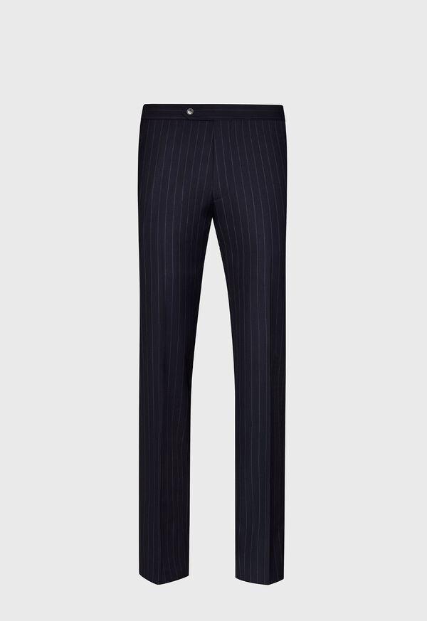 Navy Stripe Super 110s Wool Suit, image 5