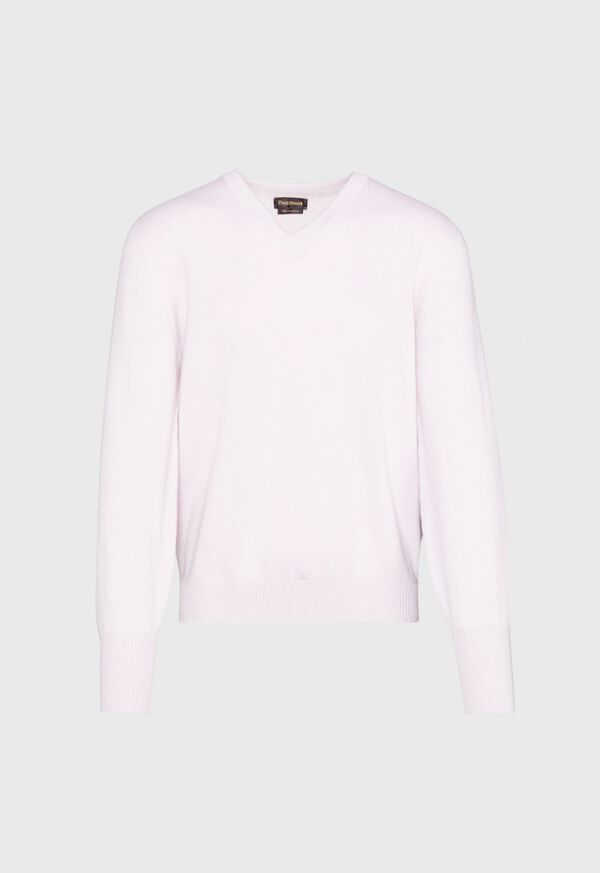 Scottish Cashmere V-Neck Sweater, image 21