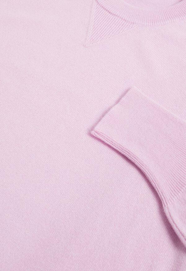 Single Ply Cashmere Sweatshirt, image 2