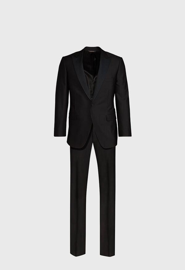 Paul Fit Peak Lapel Super 120s Wool Tuxedo, image 1
