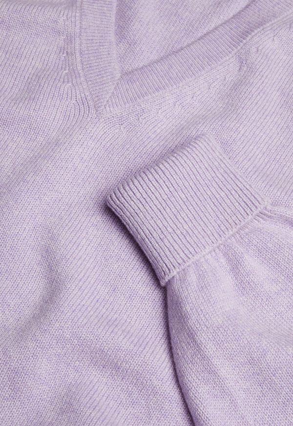 Scottish Cashmere V-Neck Sweater, image 32