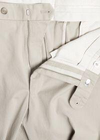 Khaki Cotton Stretch Pant, thumbnail 2