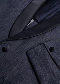 Denim Single Breasted Formal Jacket, thumbnail 3