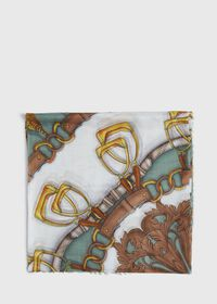 Abstract Chain Print Scarf, thumbnail 2