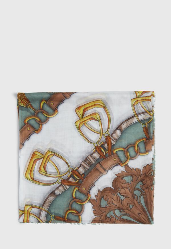 Abstract Chain Print Scarf, image 2