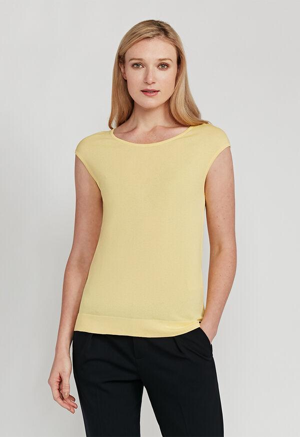 Cap Sleeve Shirt, image 1