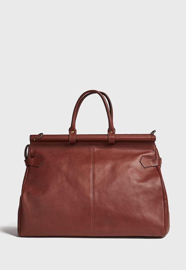 Bridle Leather Carpet Bag, image 4