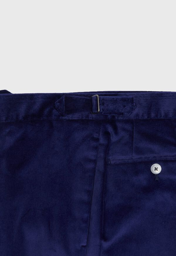 Slim Fit Cotton Velvet Pant, image 3