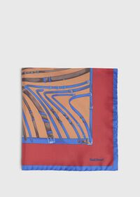 Belts and Bits Pocket Square, thumbnail 2