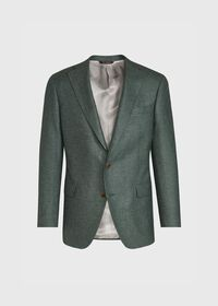 Solid Green Sport Jacket, thumbnail 1