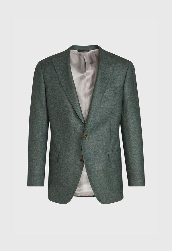 Solid Green Sport Jacket, image 1