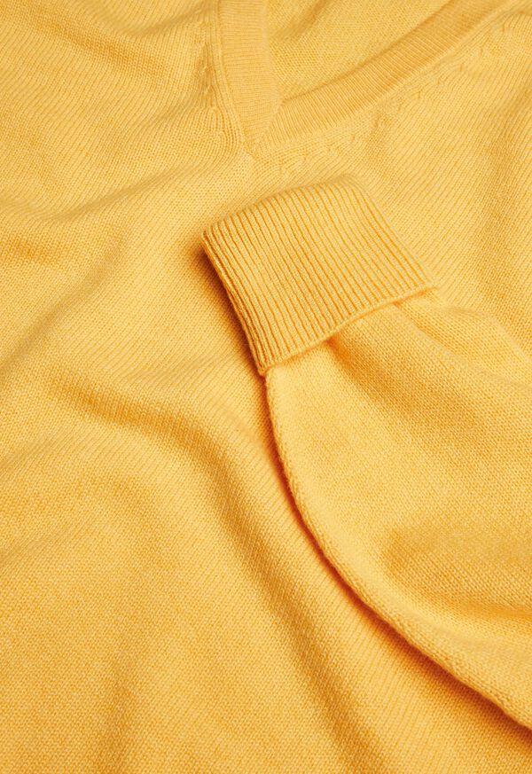 Scottish Cashmere V-Neck Sweater, image 33