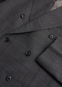 Grey Nailhead Double Breasted Suit, thumbnail 2