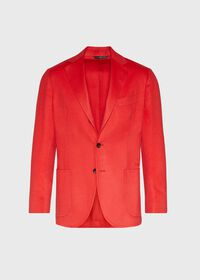 Red Cashmere Soft Jacket, thumbnail 1