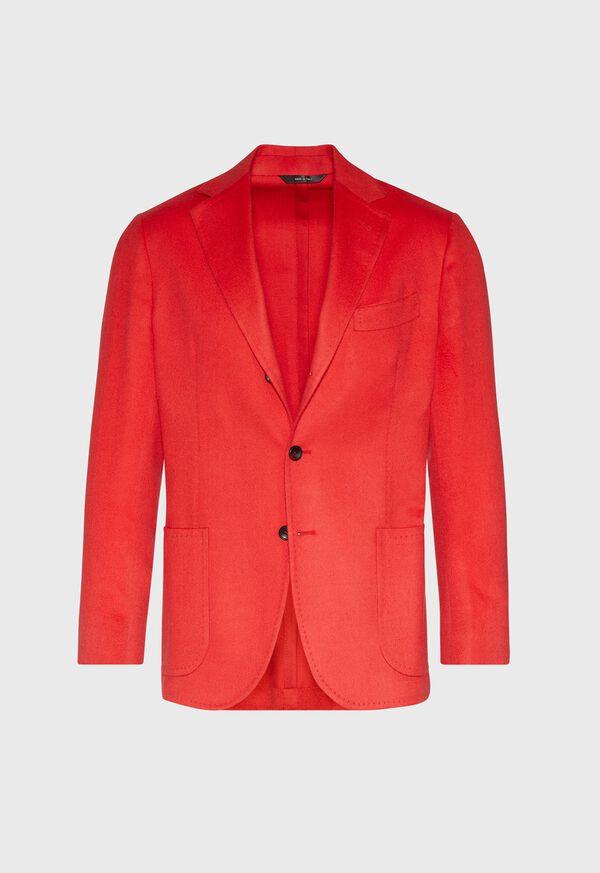Red Cashmere Soft Jacket, image 1
