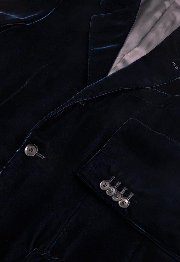 Blue Velvet Blazer, image 2