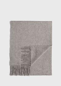 Oversized Cashmere Logo Scarf, thumbnail 1